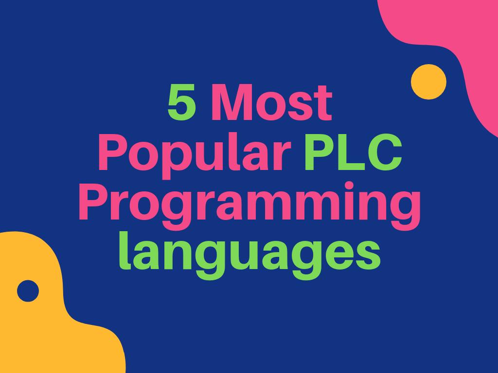 PLC Programming launguage